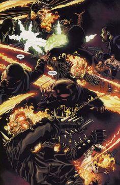 Ghost Rider (Johnny Blaze) Slaughter Ghost Rider Toys, Ghost Rider Marvel, Ghost Raider, Ghost Rider Johnny Blaze, Spirit Of Vengeance, Here's Johnny, Comics Love, Skull Artwork, Comic Page