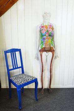 flower Body Art, Dining Chairs, My Arts, Flower, Furniture, Inspiration, Design, Home Decor, Biblical Inspiration