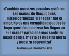 ¡Recuerda: nada puede apartarnos del amor de Dios!  Lee más en: www.news.va/es/news/ni-el-poder-del-mal-ni-nada-puede-separarnos-del-a
