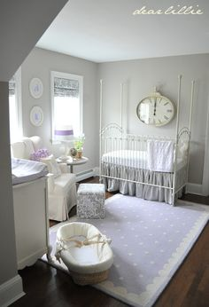 Everly's #Nursery by Dear #bedroom #girl #lavander #ideas #diy #fahion #quote #love #bed #kitchen #home #ideas #architecture #exterior #bed #room #princess #pink #onedirection #bieber #teen #girl #boy