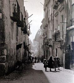 Thomas Ashby, Cagliari, centro storico