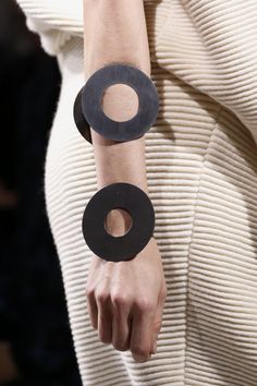 Geometric Bangles - statement jewellery, runway fashion details // Acne Studios Fall 2014