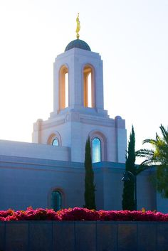➤ Soak up the Light The beautiful Newport Beach California LDS temple in afternoon light.  See this and more in higher quality: http://photos.danielhopkins.com/Galleries/All-Photos/i-mLPKZc7
