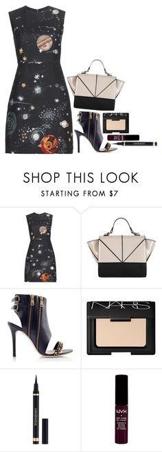 """Wait For It"" by flyintotheindigosky ❤ liked on Polyvore featuring Valentino, Konstantina Tzovolou, NARS Cosmetics, Yves Saint Laurent and NYX"