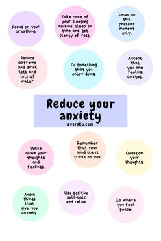 Feeling Anxiety is a nature respond of our mind and body when we are under certain threats. All of us will feel anxious when we are under stress from work. Anxiety Coping Skills, Anxiety Tips, Anxiety Help, Social Anxiety, Stress And Anxiety, How To Manage Anxiety, Anxiety And Depression, Calming Anxiety, Overcoming Anxiety