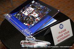 Bar Mitzvah Football Theme Sign-In Book (Chad David Kraus Photography) - mazelmoments.com