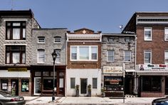 Urban Rowhouse Office - Neustadt Creative Marketing by Ziger/Snead Architects