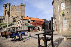 castelo (castle) in Penedono, Portugal