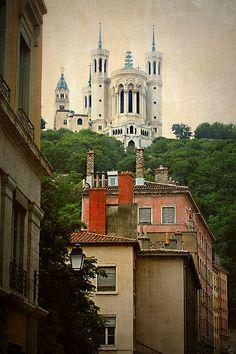 The Basilica of Notre-Dame de Fourvière Lyon