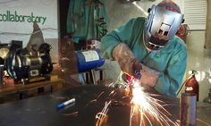 Welding Sculpture Class - The Collaboratory | Groupon