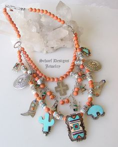 Southwestern Charm Necklace by Schaef Designs Jewelry