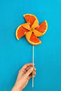 Summertime Pinwheel by Dina Belenko