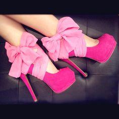 pink louboutins stilettos