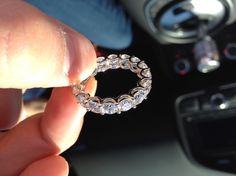 Gorgeous eternity ring
