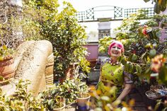 To be a vibrant, colorful, happy old lady is a dream!   Zandra Rhodes – Fashion Designer at Home and her Studio in London « the selby