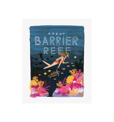 Rifle Paper Co. - Barrier Reef - Illustrated Art Print