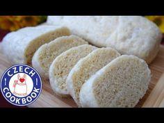 Czech Cookbook - Video Recipes in English - US Measurements - US Ingredients | Dumplings Recipe – Domácí knedlík