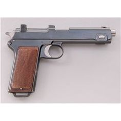Steyr-Hahn Model 1912 Semi-Automatic PistolLoading that magazine is a pain! Get your Magazine speedloader today! http://www.amazon.com/shops/raeind