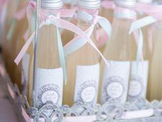 Sticker pour petite bouteille de Limoncello I Ambience Dolce vita I Design by Crème de Papier