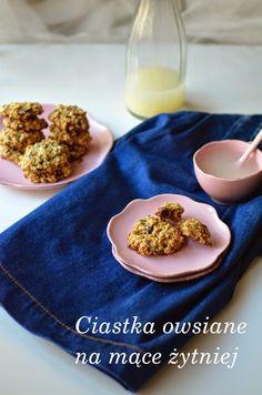 Zapraszam po przepis na błyskawiczne ciastka owsiane na mące żytniej :)