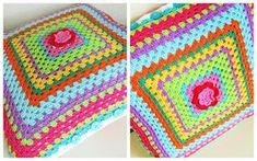 Alles over haken en andere kleurige creaties! Diy Crochet Pillow, Crochet Cushions, Crochet Art, Crochet Home, Crochet Patterns, Crochet Blankets, Crochet Projects, Craft Projects, Craft Ideas