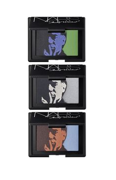 NARS' Andy Warhol Collection  Self Portrait Eyeshadow Palettes