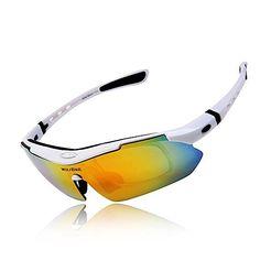 1bac54944b3c Amazon.com: WOLFBIKE UV400 Protection Sports Sunglasses for Cycling Fishing  Golf: Sports & Outdoors. Cycling GlassesSport ManRoad ...