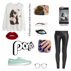 BETTER THAN PANDA EXPRESS  by hayleesilva on Polyvore featuring polyvore, fashion, style, The Row, Vans, Linda Farrow, Lottie and Panda