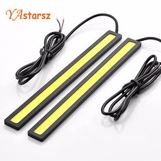Simple Signal Lamp pcs cm car styling COB LED Lights DRL Daytime Running Light Auto Lamp