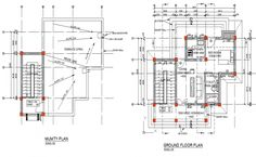 Ground floor and roof house plan detail dwg file Cheap Furniture Online, Furniture Market, Ikea Furniture, Colorful Furniture, Discount Furniture, Furniture Outlet, Furniture Ideas, Autocad, Furniture Cleaner