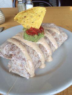 Breakfast Burrito at Tao Natural Foods #minneapolis