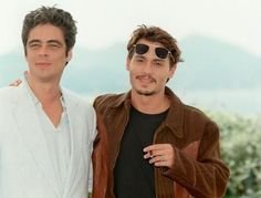 Benicio Del Toro & Johnny Depp - 2 of my favorites <3