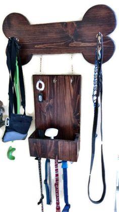 Dog Leash Holder, Dog Leash Hanger, Custom Dog Leash Hanger, Custom Dog  Leash Holder, Wood Dog Leash Hanger, Dog Leash Storage | Pinterest | Dog  Leash ...