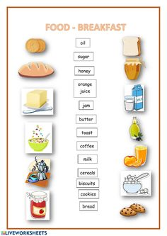 English Time, Learn English, Worksheets For Grade 3, English Exercises, French Education, Coffee Milk, School Subjects, Biscuit Cookies, Personal Hygiene