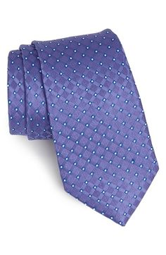 Nordstrom Woven Silk Tie available at Stylish Men, Men Casual, Fashion Souls, Dress Shirt And Tie, Tie And Pocket Square, Pocket Squares, Silk Ties, Bow Ties, Elegant Man