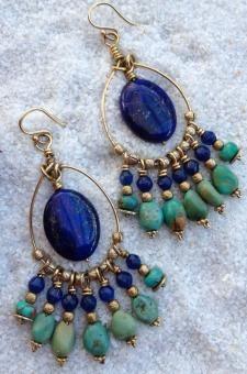 perlées Dangle Boucles d'oreilles Idées, Bricolages sur perles balancent des boucles d'oreilles