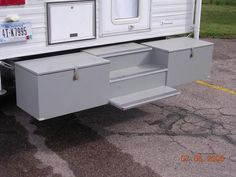 400 Series Camper Patio Or Deck Want Awning And Deck Off