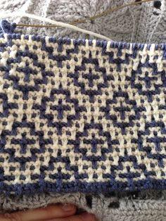 29 Welsh Blanket pattern by Debbie Bliss : Ravelry: Proje Galerisi Debbie Bliss Galce Battaniye desenini Diy Crafts Knitting, Diy Crafts Crochet, Crochet Projects, Easy Blanket Knitting Patterns, Knitting Stitches, Crochet Patterns, Lace Knitting, Plaid Crochet, Crochet Baby