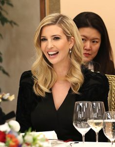 The first daughter made a stunning appearance in Seoul, where she attended a dinner with M...