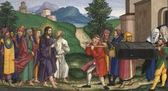 Luke Seventh Sunday after Pentecost There's no way around it: this scene is full of despair. As Jesus makes his way in. Satan, Santa Sede, Life Of Christ, Major Events, Papa Francisco, Bible Stories, New Testament, Catholic, Saints