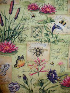 Botanical Fabrics - My favorite fabric designs.