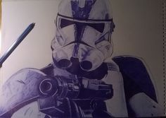 stormtrooper drawing
