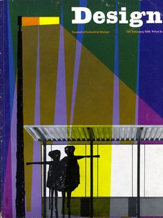 Cover of Design, the monthly journal of Britain's Council of Industrial Design, February 1960