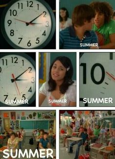 High School Musical 2 What Time Is It? Summertime! It's Our Vacation!  Good Times c':