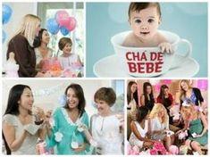 Chá de bebê com as amigas