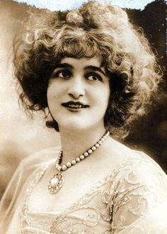 Gaby Deslys  November 4, 1881- February 11, 1920  Gaby Deslys was a danseuse, singer, and actress of the early 20th century from Marseilles, France. She selected her name for her stage career. It is an abbreviation of Gabrielle of the Lillies. Cause of death: In 1919 she contracted influenza and underwent several operations trying to cure a throat infection caused by the disease. She died from complications of her infection in Paris in 1920, at the age of 38.