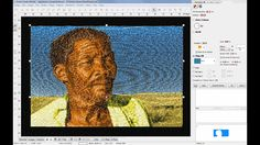 Learn how to create an Embird Sfumato Portrait Design Embroidery Designs, David, Study, Train, Quilts, Portrait, Learning, Software, Create
