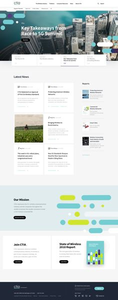 Ctiaorg homepage