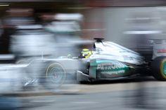 Mercedes W03 - Nico Rosberg