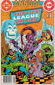 justice league of america annual 1983